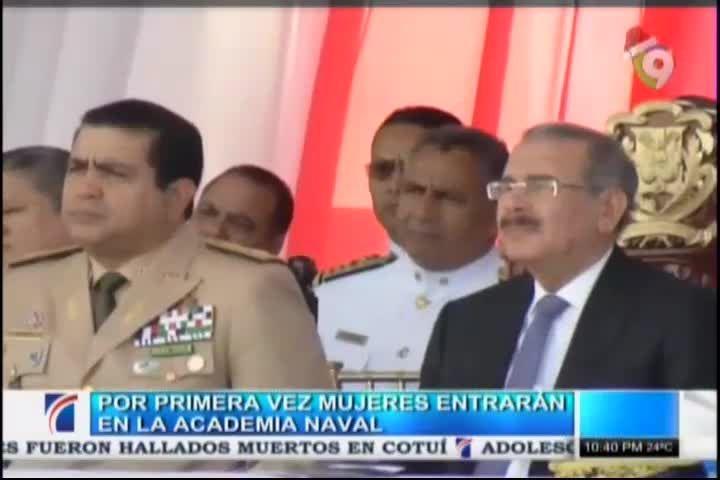 Por Primera Vez Mujeres Entraran A La Academia Naval #Video