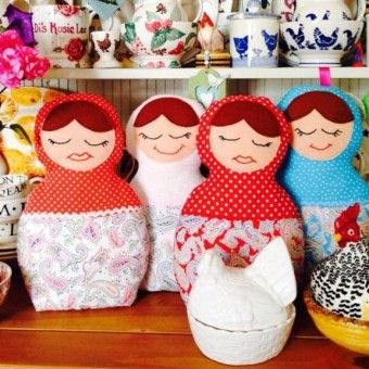 Russian Dolls Cushion