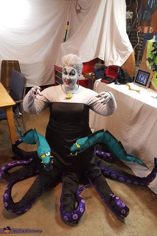 The 288 best disney cosplay images on pinterest disney cosplay ursula costume solutioingenieria Gallery