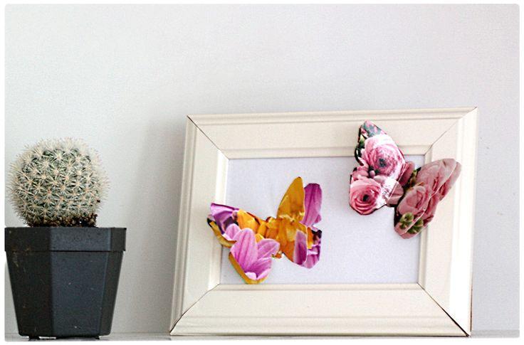 diy foto fotoschmetterlinge basteln diy inspiration pinterest. Black Bedroom Furniture Sets. Home Design Ideas