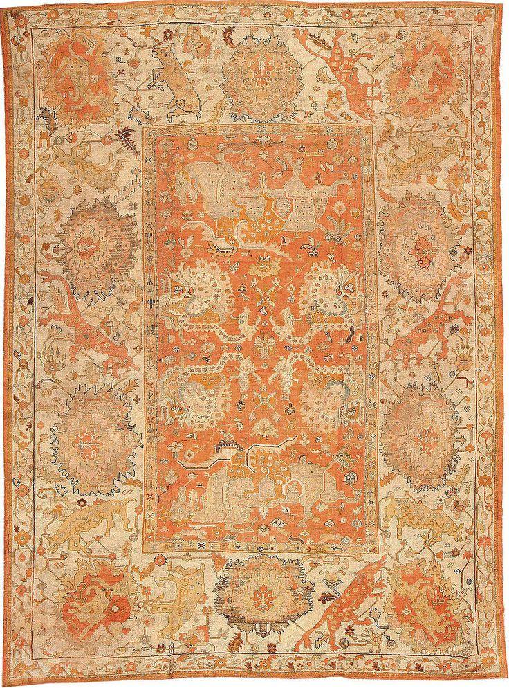 Antique Turkish Oushak Carpet Ushak Wikipedia The Free Encyclopedia