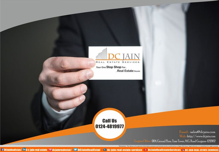 DC JAIN REAL ESTATE SERVICES Your One Stop Shop For .. Real Estate Needs  Call Us Now:- 0124-4819977 Web:- www.dcjain.com/  #realestate #realtor #realestateagent #gurgaon #agent #dreamhome #dcjainrealestateservices #home #broker #consultant