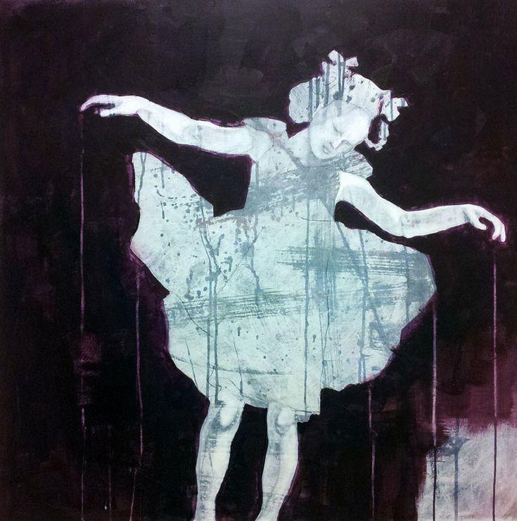 SVEVENDE LILLA BY ANNE-BRITT KRISTIANSEN  #fineart #art #painting #kunst #maleri #bilde  https://annebrittkristiansen.com/paintings/2013/