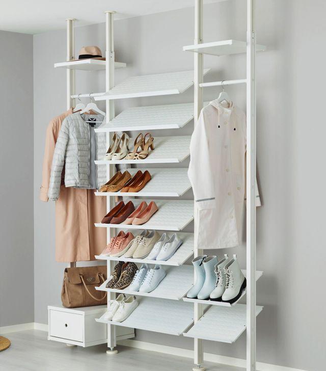 IKEA closets: IKEA Elvarli Open Wardrobe