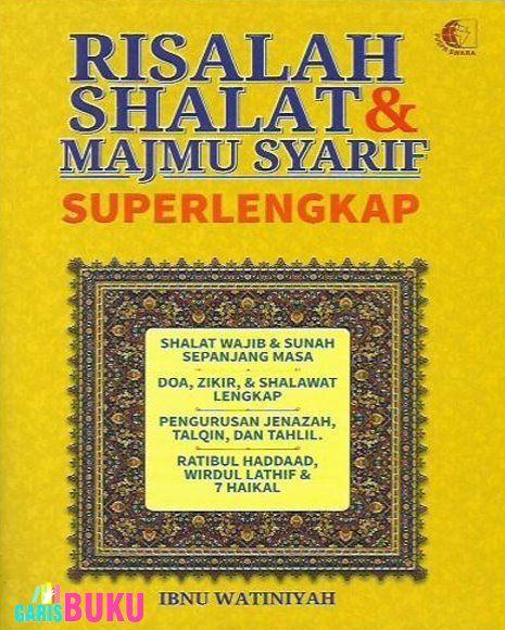 Buku Risalah Shalat Dan Majmu Syarif Super Lengkap Oleh Ibnu Watiniyah