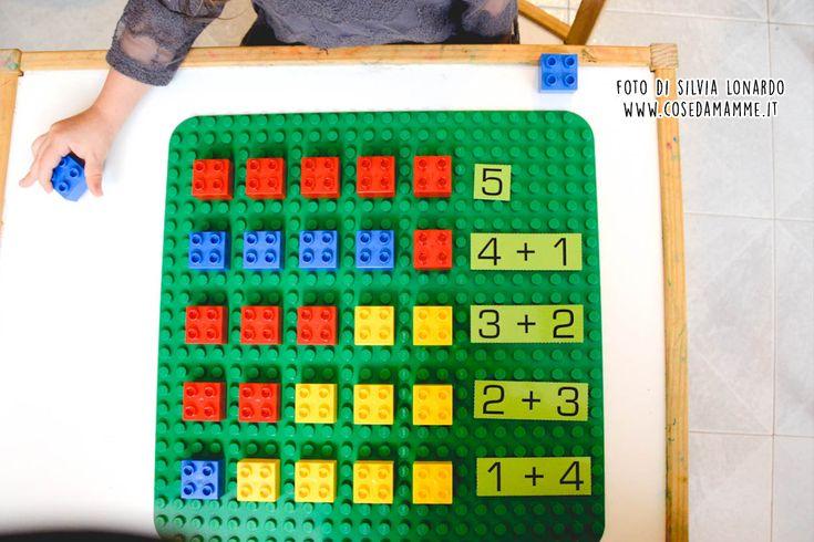 Imparare la matematica con i Lego. Metodo adatto a bambini in età prescolare