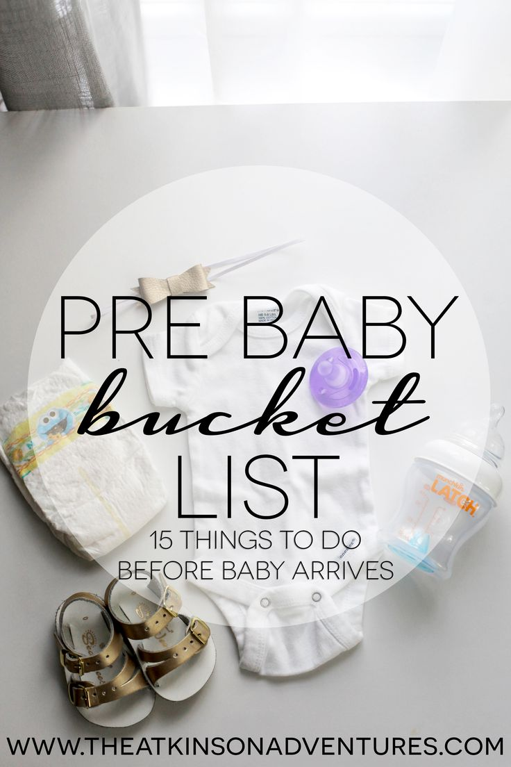 The Atkinson Adventures | Pre-Baby Bucket List | 15 things to do before baby arrives | http://www.theatkinsonadventures.com