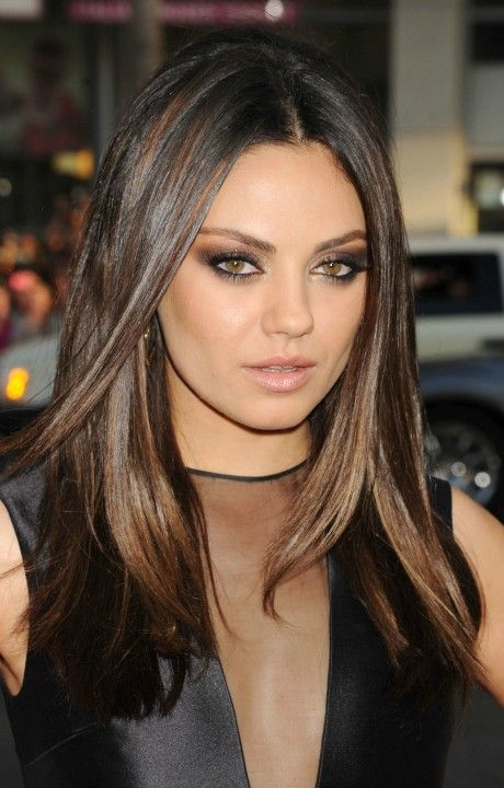 Makeup. Hair. Perfection. Mila Kunis.