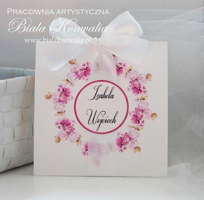 Biała konwalia: Kwiatowa papeteria ślubna