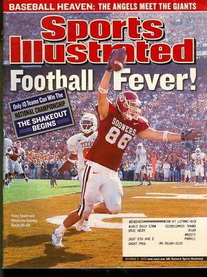 2002 Sports Illustrated: Trent Smith Oklahoma Sooners Football