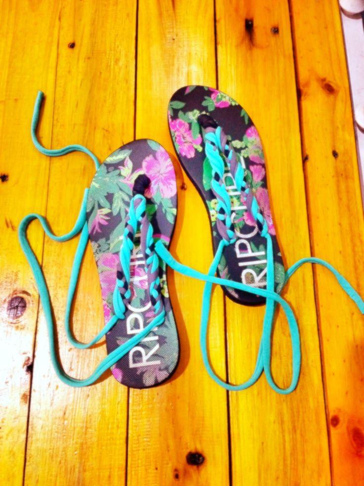 Renew old sandals