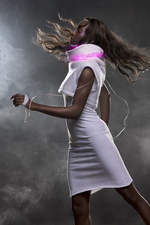 clothes that change with your mood #wearables #fashion #technology