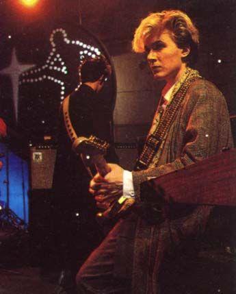 Rehearsing Whistle Test 1982
