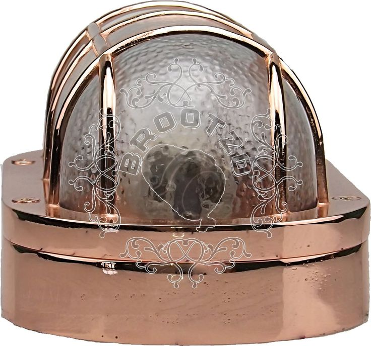 Our N44 or Athens44C  in #POLISHED  #Copper Finish . #Solid #Brass #Bulkhead #Lamp / IP64 100W  E27 .Made  in #Greece by KLuci and  BrootZo.