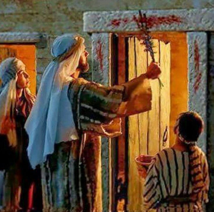 """Résultat de recherche d'images pour """"bible agneau sang portes égypte"""""""