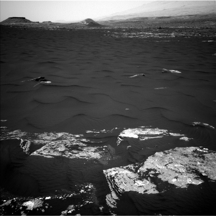 NASA's Mars rover Curiosity acquired this image using its Left Navigation Camera (Navcams) on Sol 1646