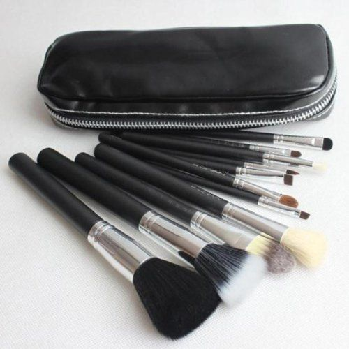 Smile 1 set name 12 pcs mc brushes makeup set cosmetic powder brush kits pinceis tools -- Check this awesome product by going to the link at the image.