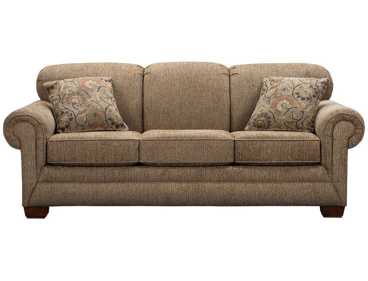 Slumberland Tenor Collection Brown Sofa Sofa Fabric