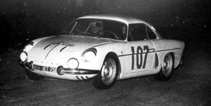 1962 Tour de Corse: Gallier's Alpine-Renault A108