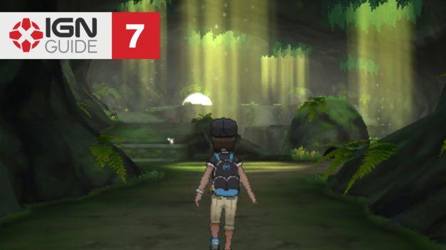 Verdant Cavern - Pokemon: Sun and Moon Walkthrough