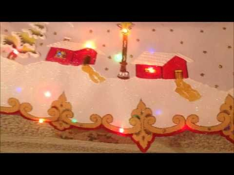 Curso de mantel navideño - YouTube