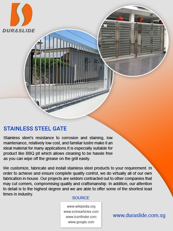 Duraslide Is A Innovative Steel Suppliers In Singapore That Offers Full Cycle Of Stainless Steel Pro Aluminium Sliding Doors Stainless Steel Gate Sliding Doors