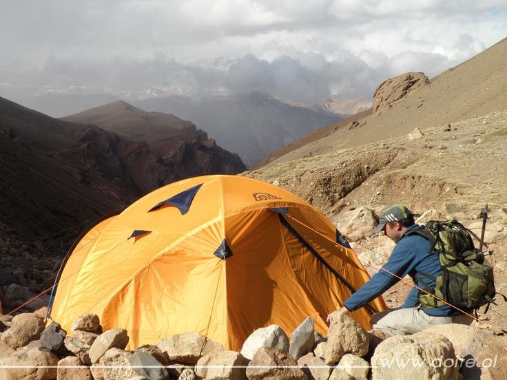 Expedición Himalaya.  CARPA: PRO ACONCAGUA 3 MOCHILA: LEONERA 50 www.doite.cl