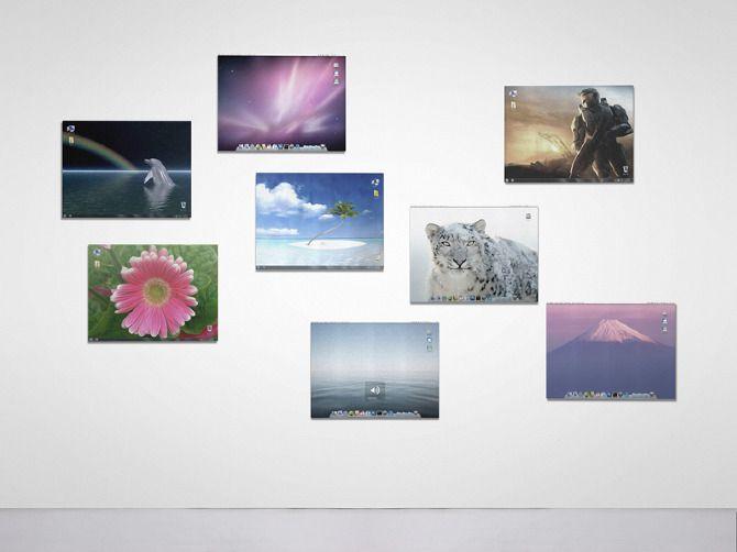 Desktop Screenshot Paintings - Manuel Fernández