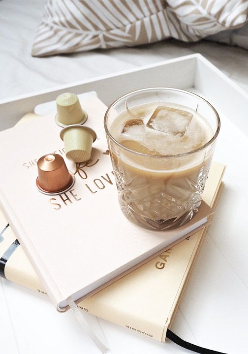 A touch of coconut milk is the key to this simple, yet delicious iced coffee recipe. Make it with your favorite Nespresso Grand Cru and enjoy this cool and creamy treat as you cozy up with a good book this fall.