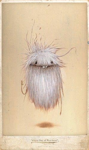 Johan Potma - Illustration - Monster - Zozoville - From Out of Nowhere