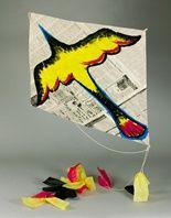 Maori Bird Kite lesson plan
