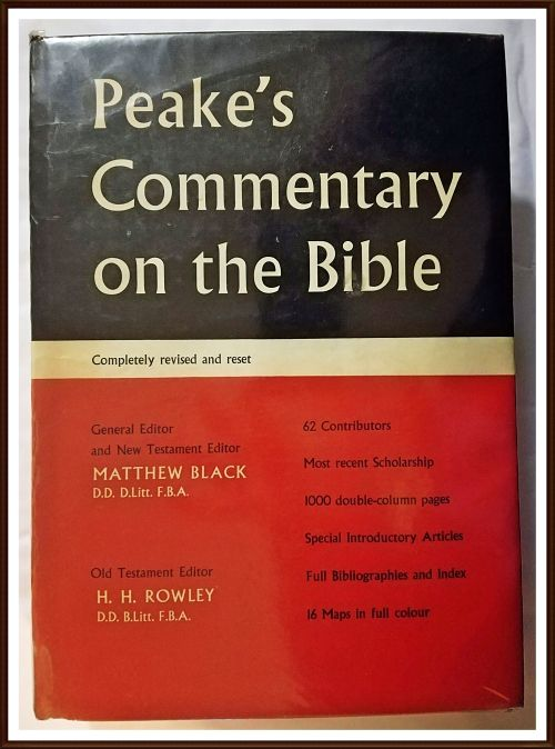 Buy Peake's Commentary on the Bible. Hardcover 1962. View pictures for condition.for R200.00