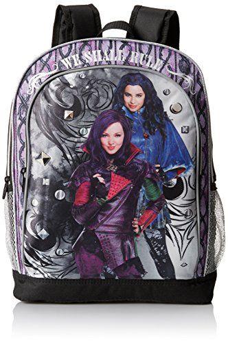 Disney Girl's Descendants Backpack, Black
