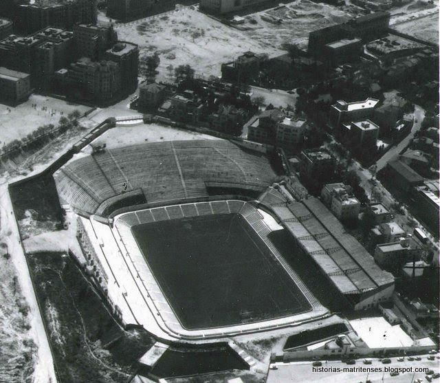 Estadio Metropolitano, año 1964.