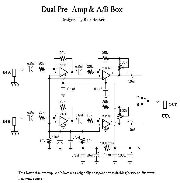 Dual Pre B Box Schematic