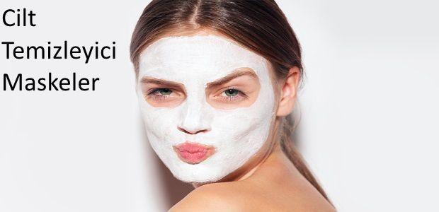 Cilt Temizleyici Maskeler Cilt temizleyici maskeler siyah noktaları yok ederek, cilt altında oluşan yağlanmayı azaltarak sivilce oluşumunu engeller. Ev ortamında kolaylıkla hazırlanabilecek cilt temizleme maskeleri ile pürüzsüz bir cilde kavuşulabilir.  Cilt Temizleyici Maske 1 yemek kaşığı limon suyu 1 tatlı kaşığı yoğurt Hazırlanışı: Yoğurt ve limon suyu uygun bir kabın içinde homojen bir şekilde …