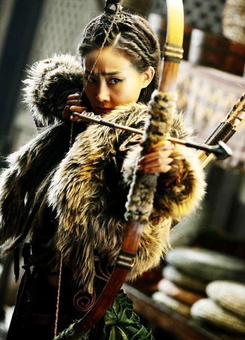 Lin Peng in'Dragon Blade' (2015).