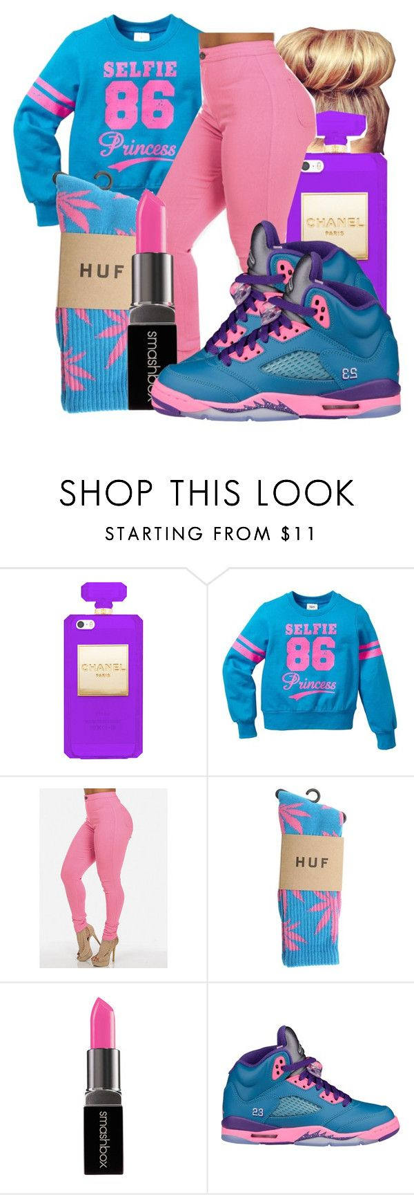"""Untitled #1545"" by honey-cocaine1972 ❤ liked on Polyvore featuring Smashbox and NIKE"