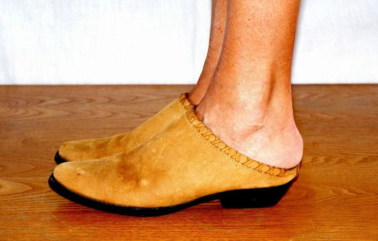 Texan Style! Original 80s Woman Sabot UK 5 US 7,5 AUS 6 Sabot Donna Vintage Anni 80' Stile Texano in Pelle Scamosciata Flat Taglia 38 di BeHappieWorld su Etsy