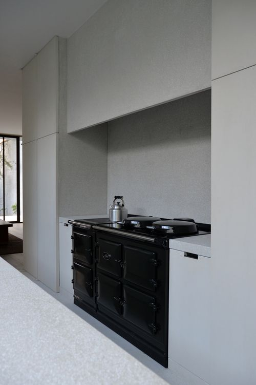 Aga Used In A Contemporary Kitchen By Merckx Kitchen Interiors Pinterest Aga Kitchens