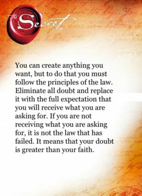 Your Faith HAS to Be Greater Than Your Doubt To Create What You Want !!!