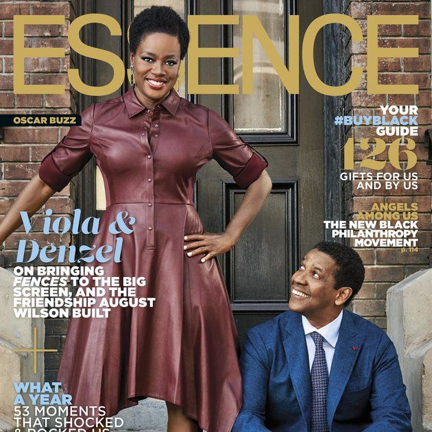 Denzel Washington and Viola Davis Shine on the December issue of ESSENCE | Essence.com