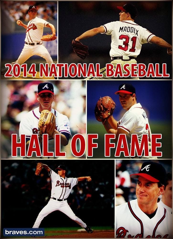 Congrats to Tom Glavine and Greg Maddox~Baseball Hall of Fame 2014 #Braves⚾️