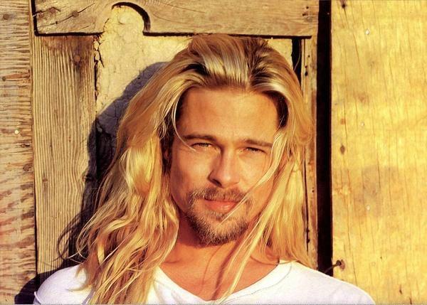 Brad Pitt long hair | brad pitt with long hair......RRRAAARRRR!!!!!!!!!!!!!