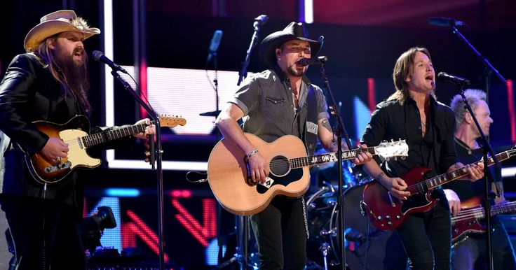 """See Jason Aldean Cover Tom Petty With Chris Stapleton, Keith Urban  