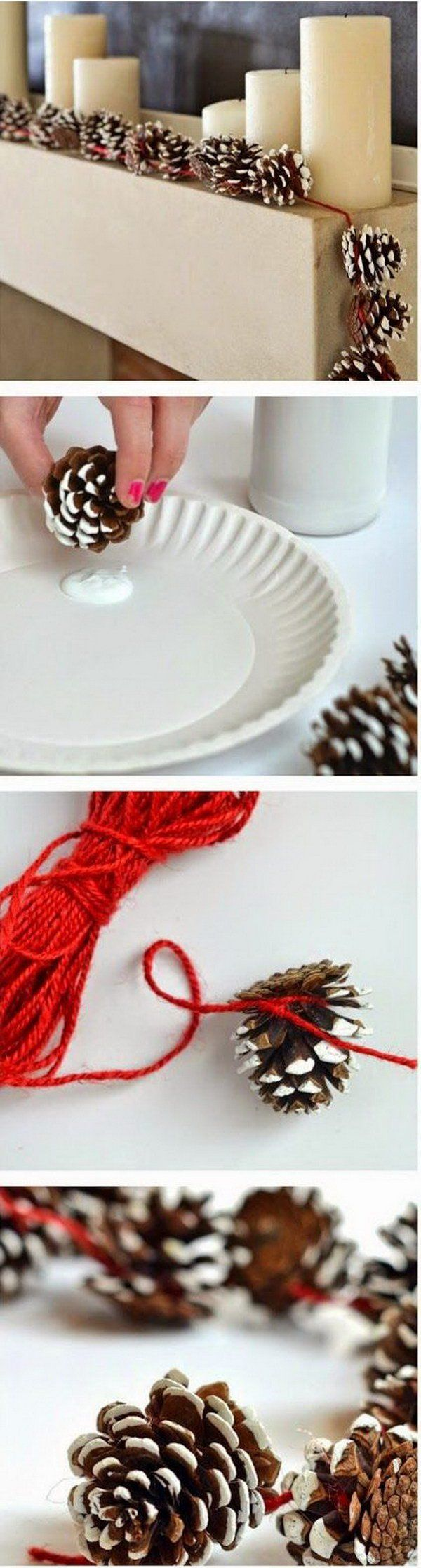 DIY Pinecone Garlands                                                                                                                                                                                 More