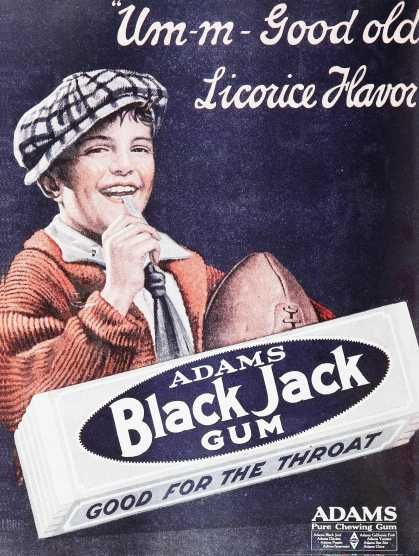 The start of my love of black licorice.  Also loved Clove gum - think that was (and still is today) one of my favorites.