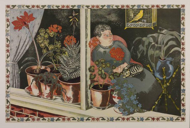 John Nash, 'Window Plants' 1945