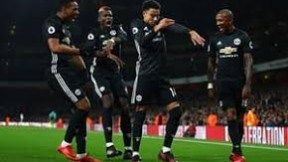 Man United Beat Arsenal In a Thrilling Encounter
