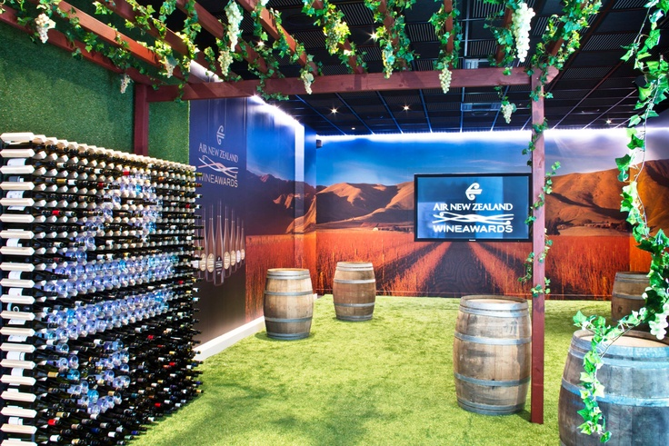 Our Hangar 9 transformed into Cellar 9 in the lead up to the Air New Zealand Wine Awards